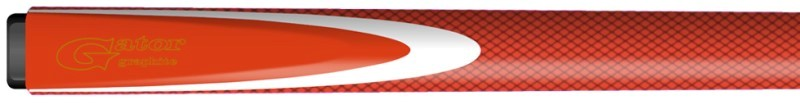 gator red graphite cue inlay
